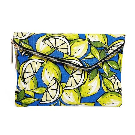 River Island ASOS lemon bag - handbags that look like art - shopping bag - handbag