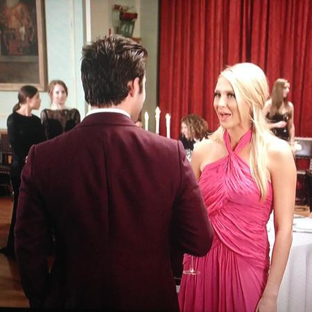 stephanie pratt-spencer matthews-made in chelsea-cheating-speech-ball-showdown-argument-pink dress-drama - handbag.com