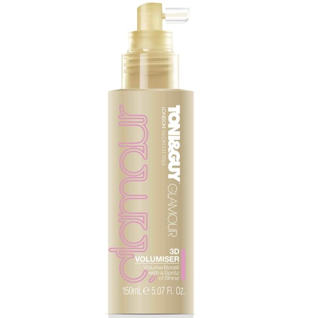 TONI&GUY Hair Meet Wardrobe Glamour 3D Volumiser-how to-big hair-volume-roots-big blowdry-60s hairstyle-handbag.com