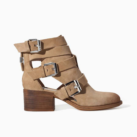 Zara beige suede cut out ankle boots - what to wear to a festival - festival fashion - shopping bag - handbag