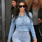 Kim Kardashian breaks the DD rule