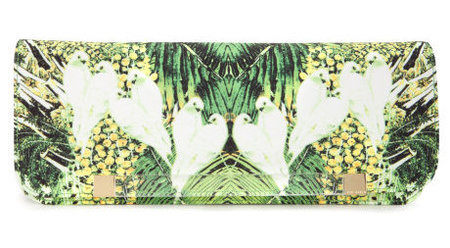 Ted Baker tropical clutch - best wedding clutch bags - shopping bag -handbag
