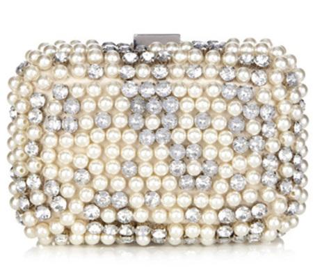 Oasis pearl clutch - best wedding clutch bags - shopping bag -handbag