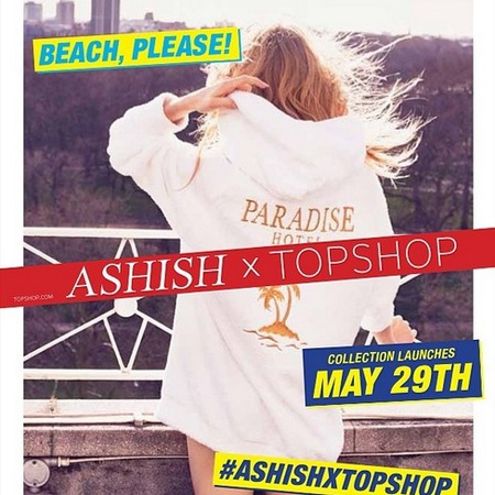Ashish for topshop - launch photo - beach please - browns focus - handbag.com