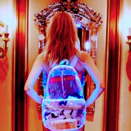 Ashish for Topshop - LED light up plastic backpack - handbag.com