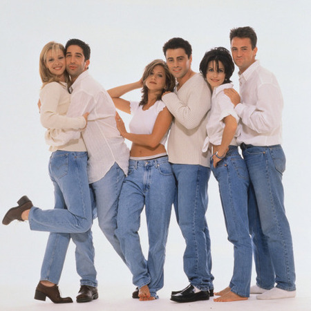 friends - high waisted jeans - 90s trends - handbag.com