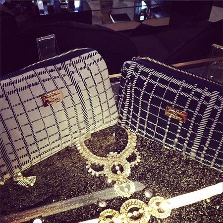 jenny packham makeup bags from lancome - shopping bag - handbag