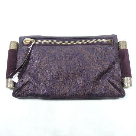 Khloe Kardashian ebay charity sale - davi kroell clutch bag - handbag.com