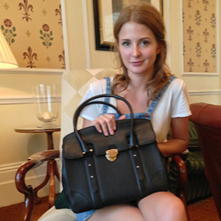 millie mackintosh - handbags for hospices - used designer bag shop - charity - handbag.com