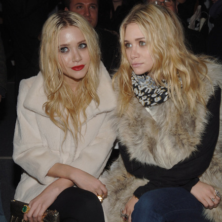 Mary-Kate and Ashley Olsen messy long hairstyle - fashionable celebrities - celebrity hairstyles - hairstyles for long hair - hair how to - beauty advice - handbag.com