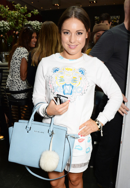 Louise Thompson's Michael Kors bag