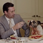 Jon Hamm's cute dog steals his limelight