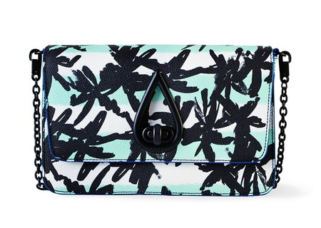 KENZO BOLSO RAINDROP PALMERAS bag - best tropical bags - shopping bag - handbag