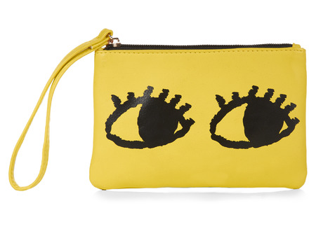 primark best summer bags - yellow eye bag - shopping bag - handbag