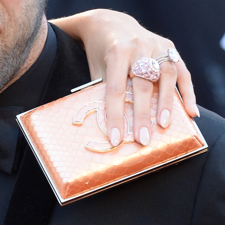 Blake Lively's Chanel clutch bag