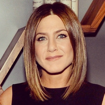 Jennifer Aniston Dark Hair 2014