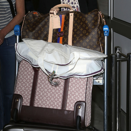 Naomi Watts Louis Vuitton luggage
