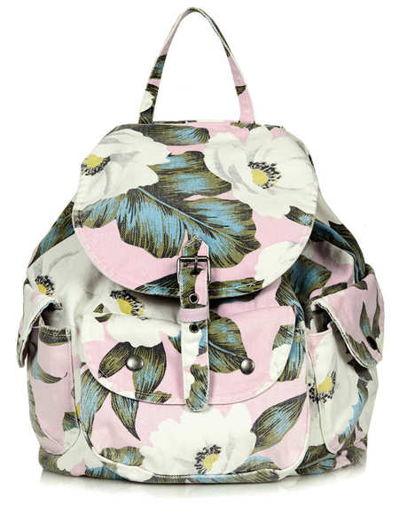 topshop aloha tropical backpack - best tropical bags - shopping bag - handbag