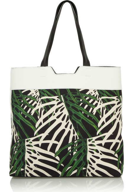 proenza schouler tote - best tropical bags - shopping bag - handbag