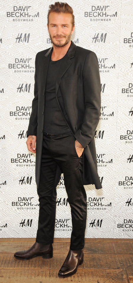 david beckham-suit-long jacket-hm-swimwear collection-handbag.com