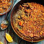 Dinner sorted: Paella with pasta recipe