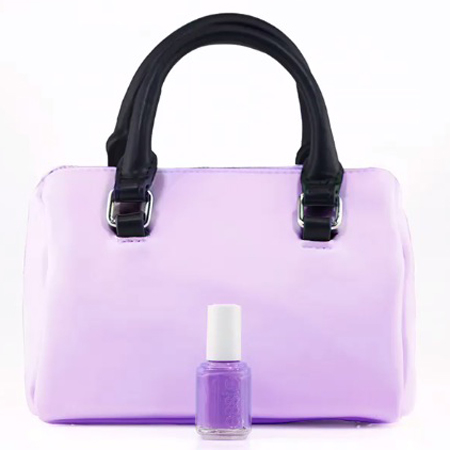 essie nail polish-neon collection-purple-match manicure to your handbag trend-handbag.com