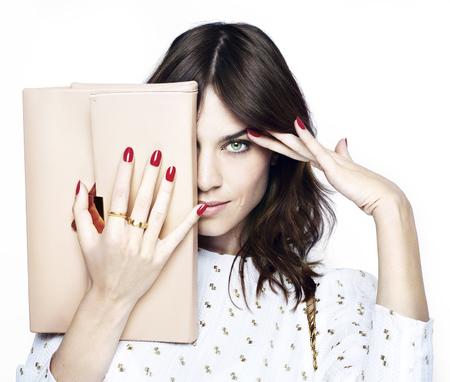 Alexa Gel - alexa chung is the new face of nails inc - beauty bag - handbag