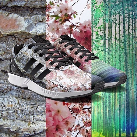 adidas customised trainers - new adidas app to print instagram pics on trainers - shopping bag - handbag