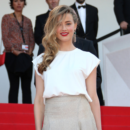 amber heard vionnet dress at cannes 2014 - new celebrity trend t-shirts and skirts - shopping bag - handbag