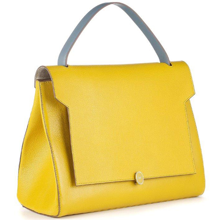 anya hindmarch-bathurst stachel-yellow handbag-mustard-discount sale-handbag.com