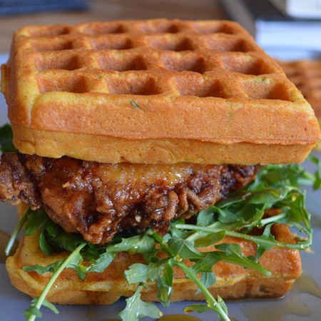 300 sandwiches blog best sandwich recipes - chicken waffles sandwich recipes - food news - engaged - recipes - handbag.com