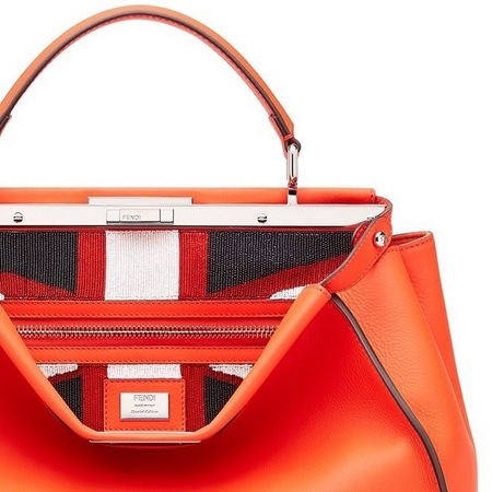 fendi-peekaboo bag-british flag-union jack-red handbag-london bond street store-limited edition-karl lagerfeld-handbag.com