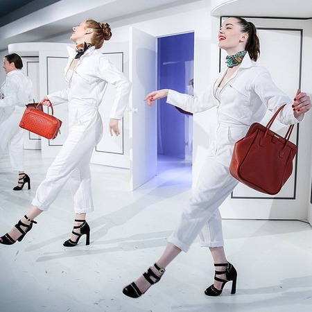 Hermes AW14 party - hermes handbags - fashion news - fashion events - shopping bag - handbag.com