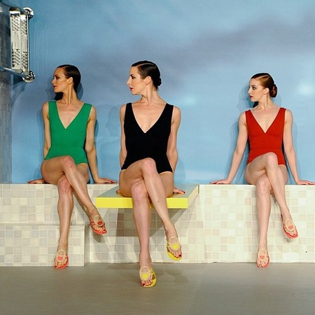 Hermes AW14 party - hermes handbags - Anna Wintour - fashion news - fashion events - shopping bag - handbag.com