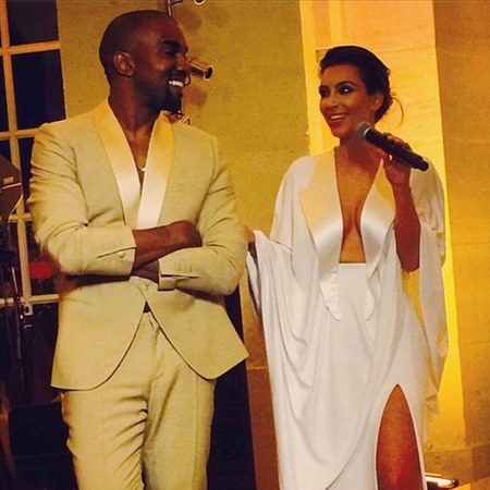 kim kardashian and kanye west at their pre wedding party - day bag - handbag