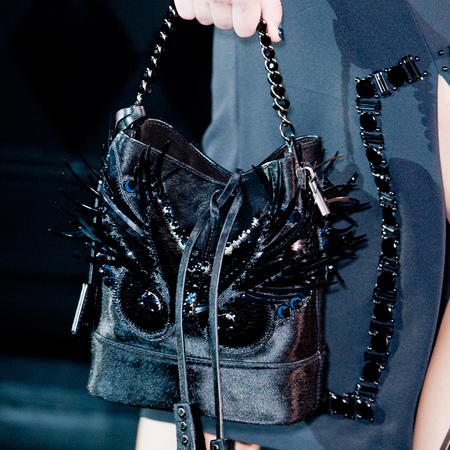 louis vuitton-spring summer 2014 handbags-marc jacobs-feather bucket bag-handbag.com