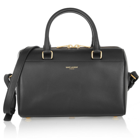 Saint Laurent Classic Duffle mini leather bag - handbag shopping - YSL bags - shopping - handbag.com