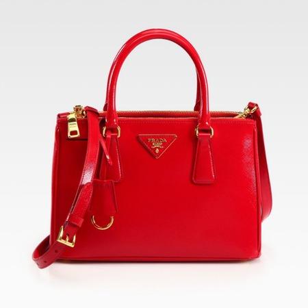 Prada Saffiano Vernice Tote - lana del rey could buy loads of designer handbags with kim kardashian and kanye west fee - shopping bag - handbag