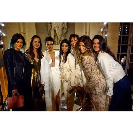 Kardashian family photo