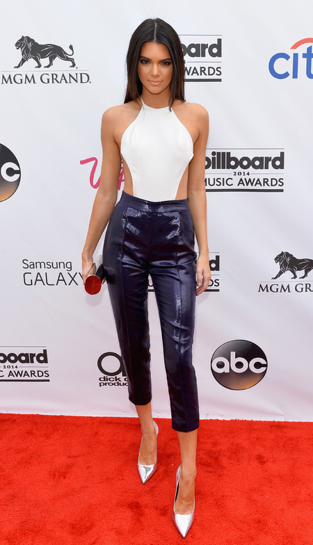 kendall jenner leotard and sequin trousers billboard awards - are leotards and trousers back - shopping bag - handbag