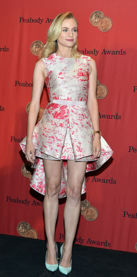 Diane Kruger in Giambattista Valli dress at the Peabody Awards, May 2014