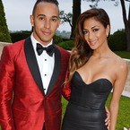 Nicole and Lewis are happy she's older