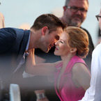 Robert Pattinson gets kissy at Cannes