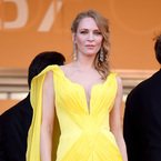 Uma Thurman leads the yellow trend