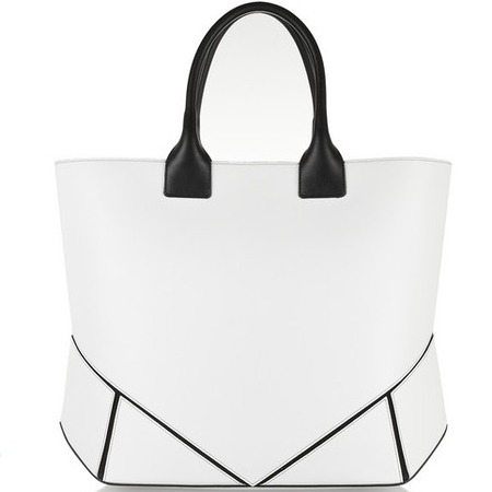 givenchy easy bag in white leather - best white handbags - shopping bag - handbag