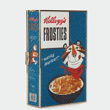 kelloggs frosties clutch - anya hindmarch pre autumn 2014 collection - shopping bag - handbag