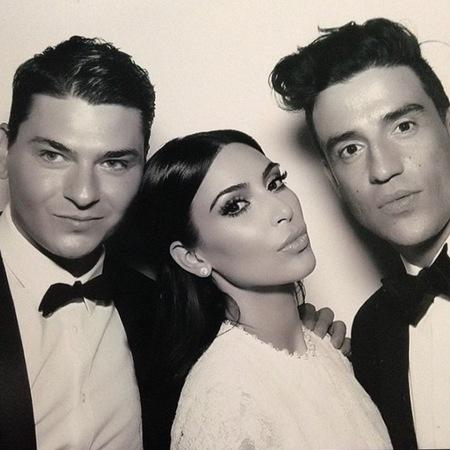 kim kardashian-wedding makeup-contouring-makeup artist-Mario Dedivanovic-wedding hairstyle by cjris mcmillan-handbag.com