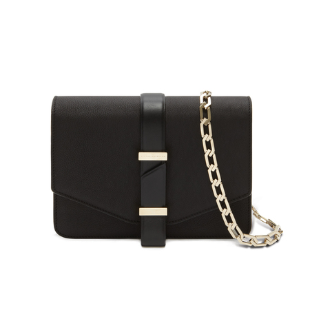 Victoria Beckham's pre autumn handbag collection - black satchel - designer handbags - shopping bag - handbag.com