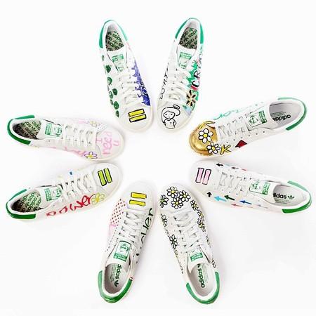 pharell williams shoes for adidas make us happy - shopping bag - handbag