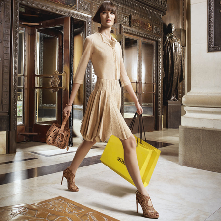 selfridges-sam rollinson-ad campaign-biggest handbag and accessories shopping destination in the world-london department stores-handbag.com